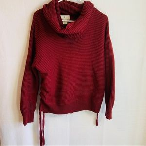 Ruby moon/ anthropologie sweater